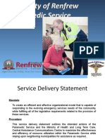County of Renfrew Paramedic Service Health Committee 5 16