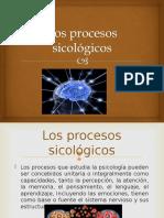 Los procesos sicológicos.ppt