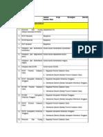 Checklist Survey Instansional RTRW Kabupaten Minahasa Tenggara