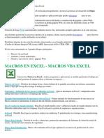 Macros Excel VBA