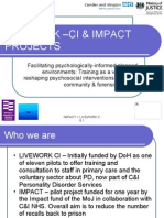 Facilitating psychologically-informed planned environments