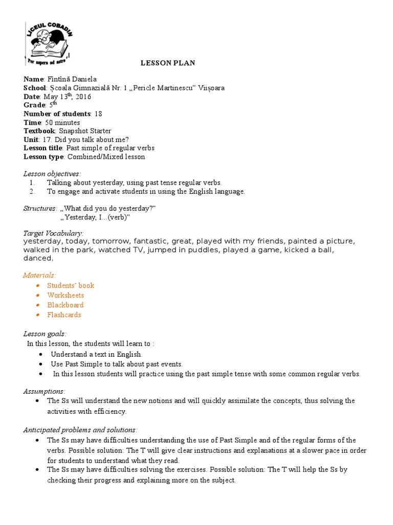 worksheet Verb Worksheets 5th Grade workbooks past tense verbs worksheets free printable lesson plan 5th grade of regular verbs