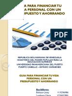 Guia de Presupuestos y Ahorros