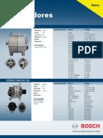 Catalogo Alternadores Bosch