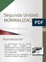 CAPITULO II - NORMALIZACIÓN.pptx