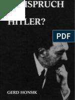Honsik, Gerd - Freispruch fuer Hitler (1988, 233 S., Text).pdf