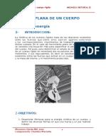 Cinetica Plana de Los Cuerpos Rígidos