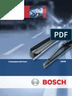Escobillas Bosch