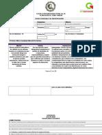Formato de Planeacion Matematicas y Razonamiento Complejo