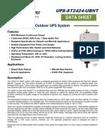 Ups St2424 Ubnt Spec Sheet