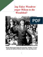 Woodrow Warmonger Wilson
