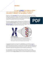 Biologia - Síntese Proteica