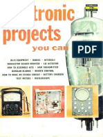Electronics Projects You Can Make 1958