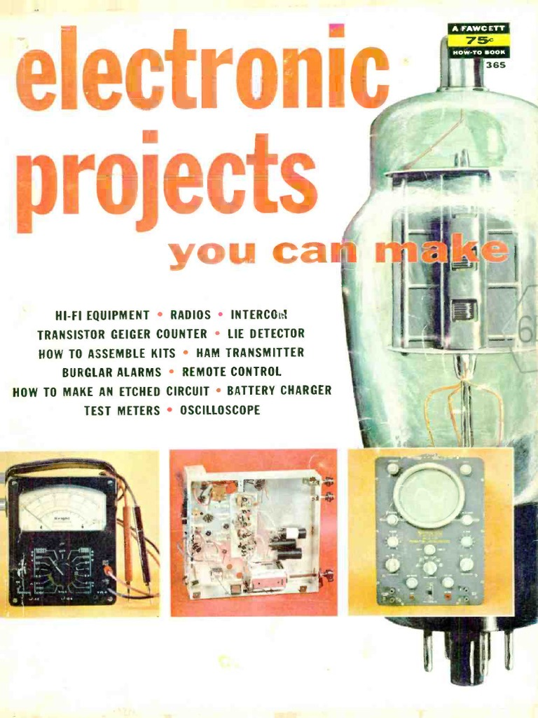 Electronics Projects You Can Make 1958 Vacuum Tube Amplifier The Radio Builder Audio Amplifier6 Simple Circuits