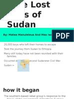 lost boys of the sudan