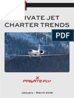 PrivateFly Private Jet Charter Trends Q1 2016