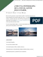 Como Hacer Una Fotografía Panorámica Con El Lente 18-55 en Solo 3 Pasos. – Blog Omar Viw