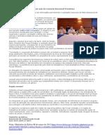 Brasil e Colômbia Regulamentam Ação Da Comissão Binacional Fronteiriça