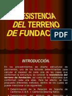 Resistencia Del Terreno de Fundación