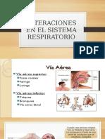 Alteraciones en El Sistema Respiratorio