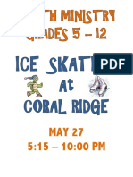 ice  skating flyer