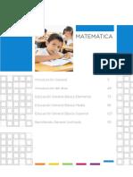 Matemática currículo 2015-2016