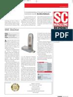 SC Magazine Reviews VME Bio Drive