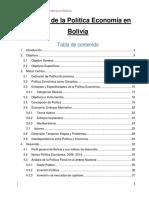 Análisis de La Política Economía en Bolivia (Autoguardado)