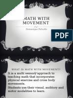 math and movement   1