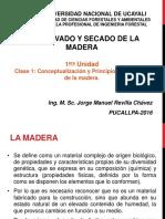 Preservado y Secado Madera Clase1 2016 I JMRCH