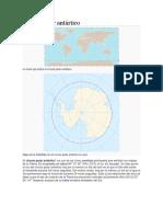 Círculo Polar Antártico