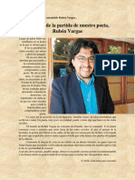 Sobre nuestro entrañable Rubén Vargas