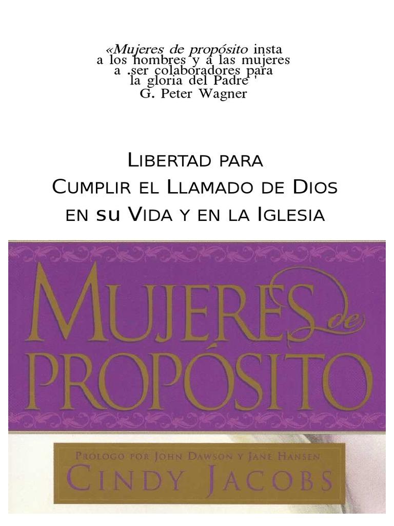 Jacobs Cindy - Mujeres de Proposito - Copia