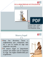 Marco Legal de La Seguridad Ocupacional