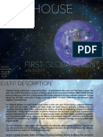 FIRST GLOBAL EVENT (Pamphlet)
