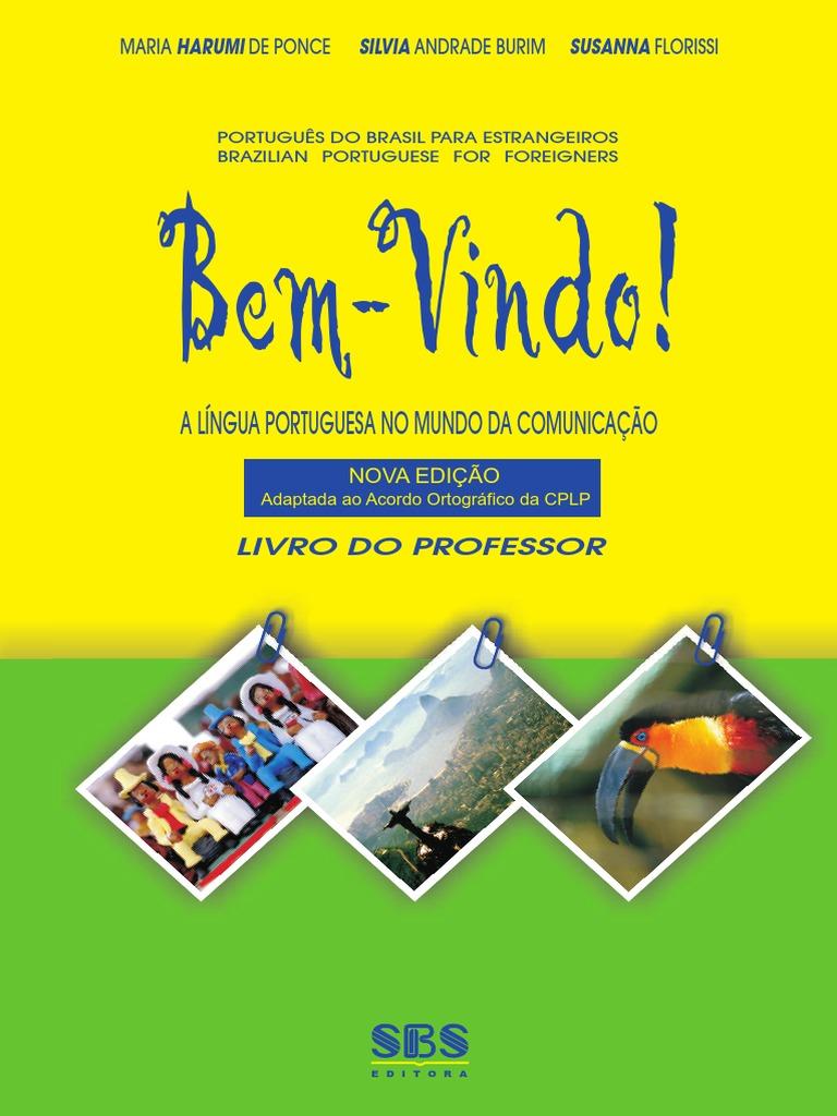 Bem-vindo  livro do professor b81d5da733350