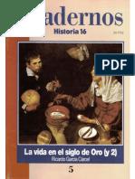 Cuadernos Historia 16 005 1995 La Vida en El Siglo de Oro (II)