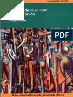 Filosofía de La Cultura. Enrique Dussel