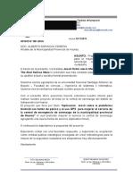 Propuesta a Serenazgo Huaraz Huaraz