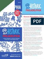 Where Magazine Map - Historic Philadelphia