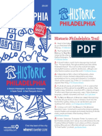 Where Magazine Map - Historic Philadelphia