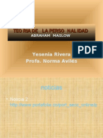 JERARQUIA DE NECESIDADES