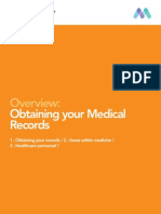 Obtaining your Medical Records