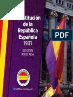 Constitución de la II República (Comentada)