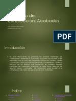 Catalogo de Construcción