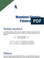 PRESENTACIÓN - PALANCA - POLEA