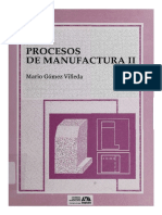 Procesos de Manufactura BAJO Azcapotzalco II