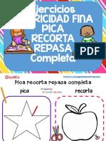 Pica Recorta Repasa y Completa PDF
