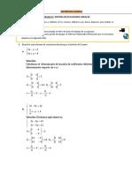 Solucion de Sistema Ecuaciones Lineales s7