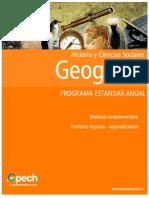 Territorio Regional Regionalización